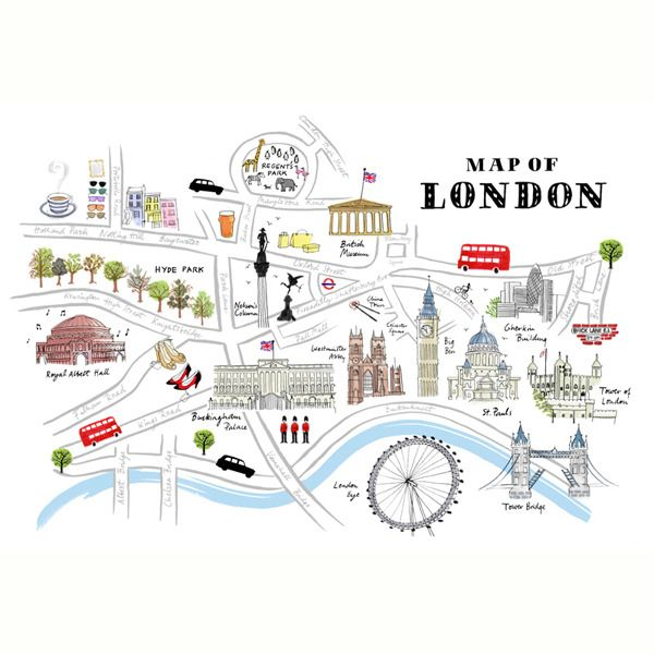 tourist map of london towbar fittings london