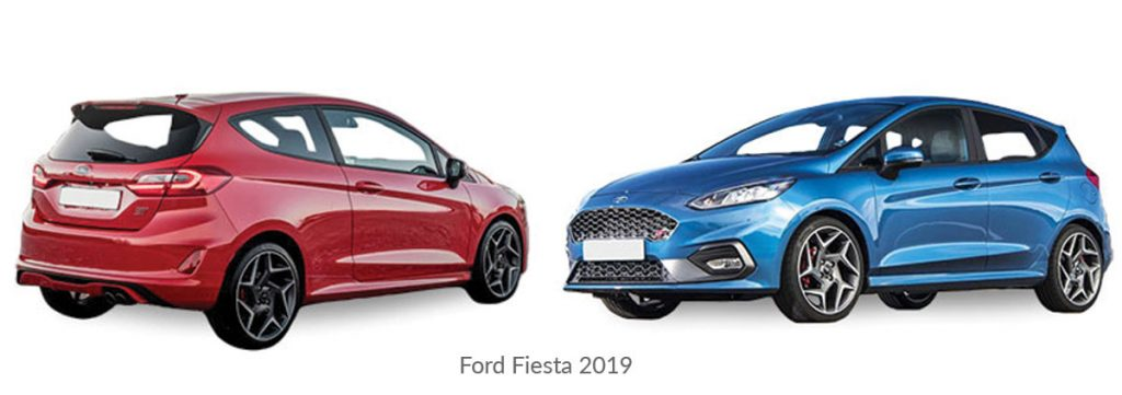 Ford-Fiesta 2019 car model