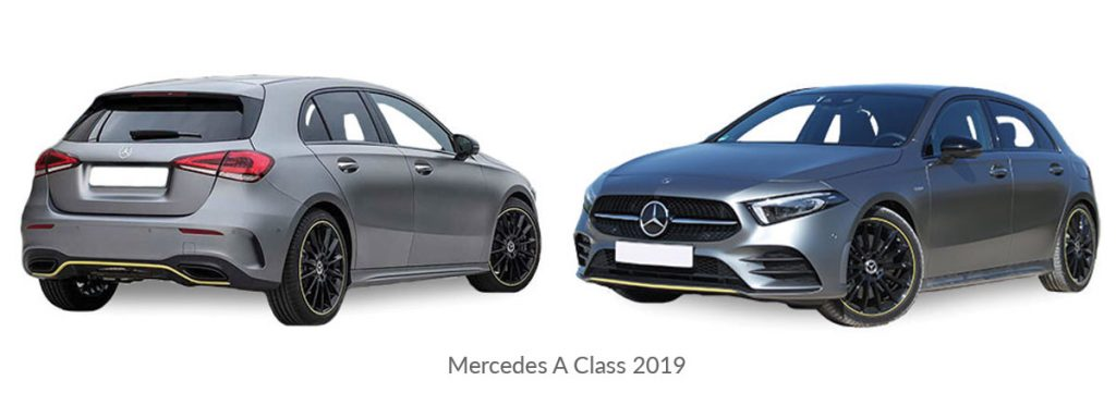Mercedes-A Class 2019 car model
