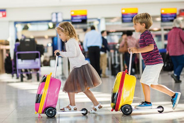 Bags for children when travelling