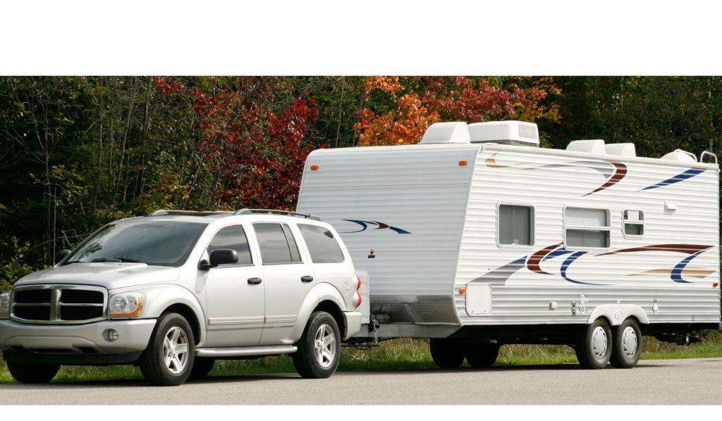 Towing a caravan safely