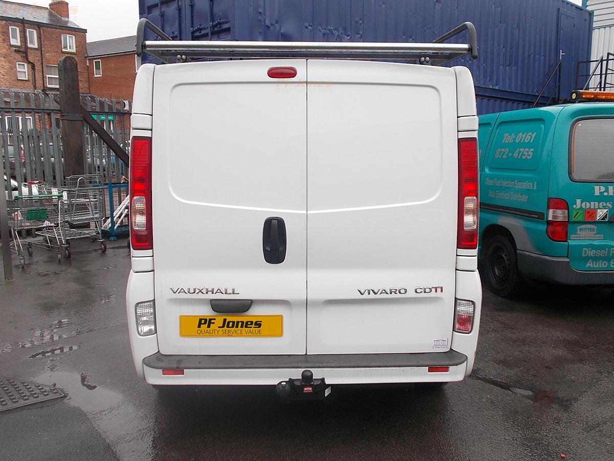 Vauxhall Vivaro Tow Bar Fitting Rn88a