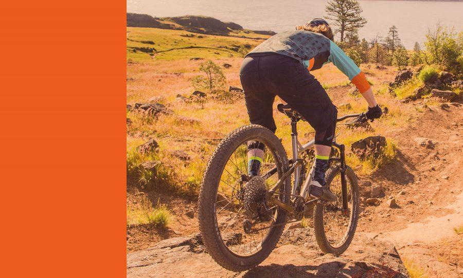 Cyclist Bike Trail