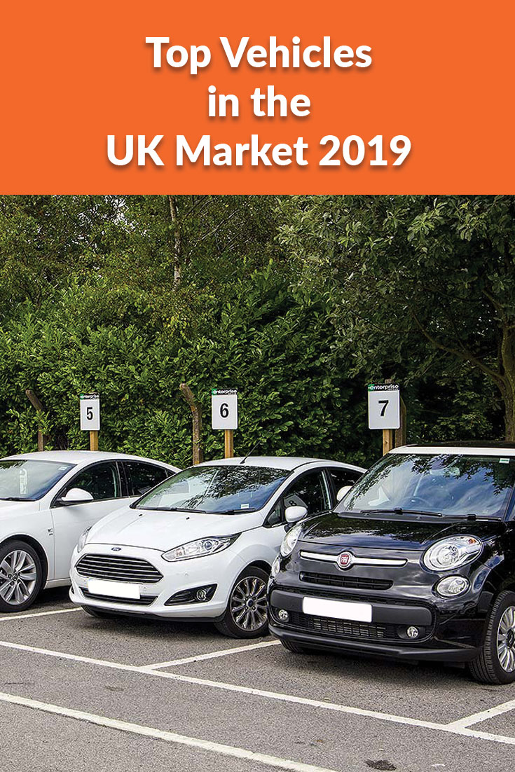 top vehicles in the UK 2019 blog