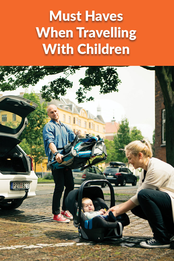 Must Haves When Travelling With Children blog