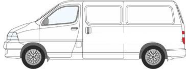 Toyota HI Ace Power Van Roof Racks