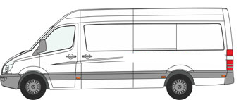 VW CRAFTER ROOF RACK