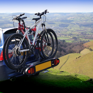 New Witter 4 bike tow bar mounted carrier