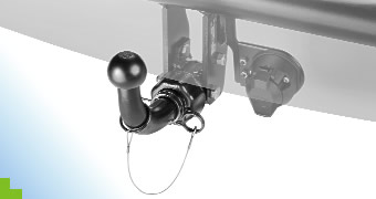 Nut System Detachable Type Tow Bar