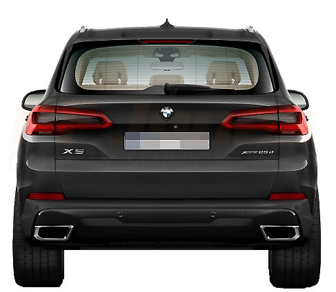 BMW X5 GO5 Compare to F15