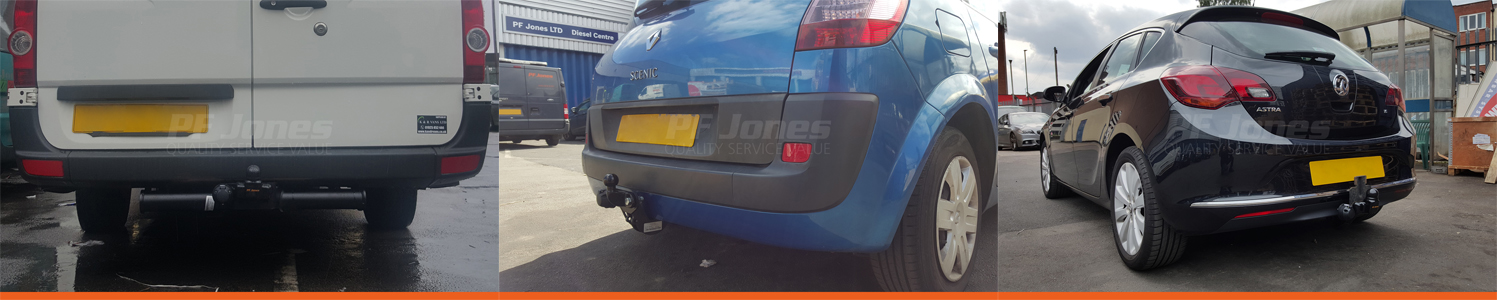 Fixed Flange Towbar Fittings