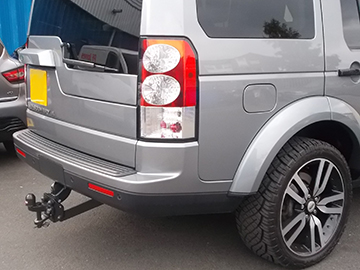 Cambridge tow bar fitting