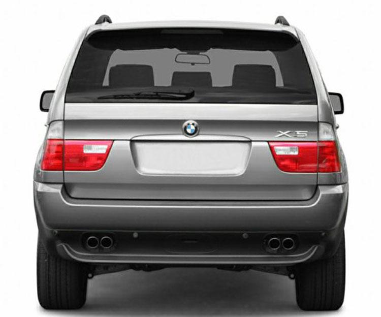 BMW E53 differences to E70