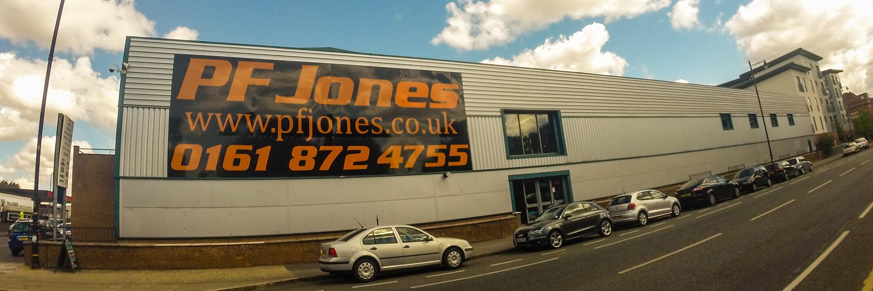 PF Jones Nuttall Street Old Trafford Manchester