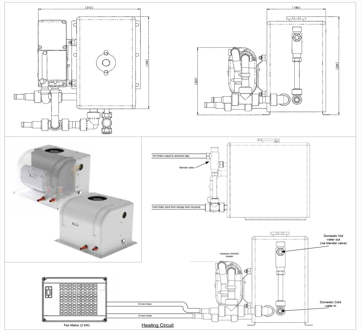 Layout schematics Hydroplate