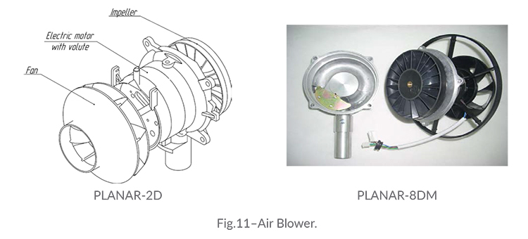 Planar Removal and Replacement of Air Blower
