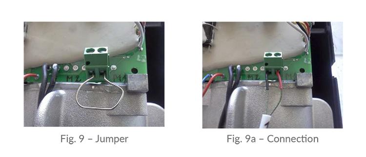 Planar Thermocouple overheat sensor