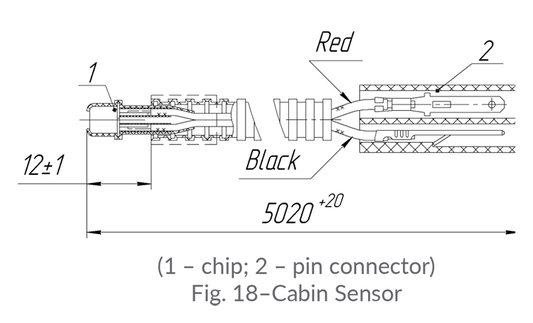 Troubleshooting and Replacement of Cabin Sensor