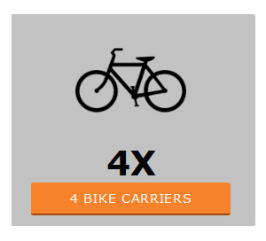 Four bike cycle carriers