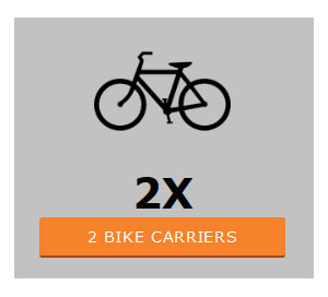 Two bike carriers