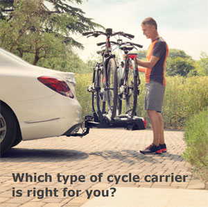 Which type of cycle carrier do you need?