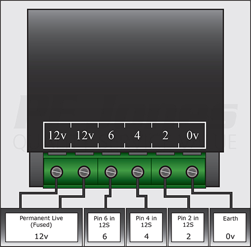 Split Charge Relay: Mondeo Mk4 Towbar Wiring Diagram At Submiturlfor.com