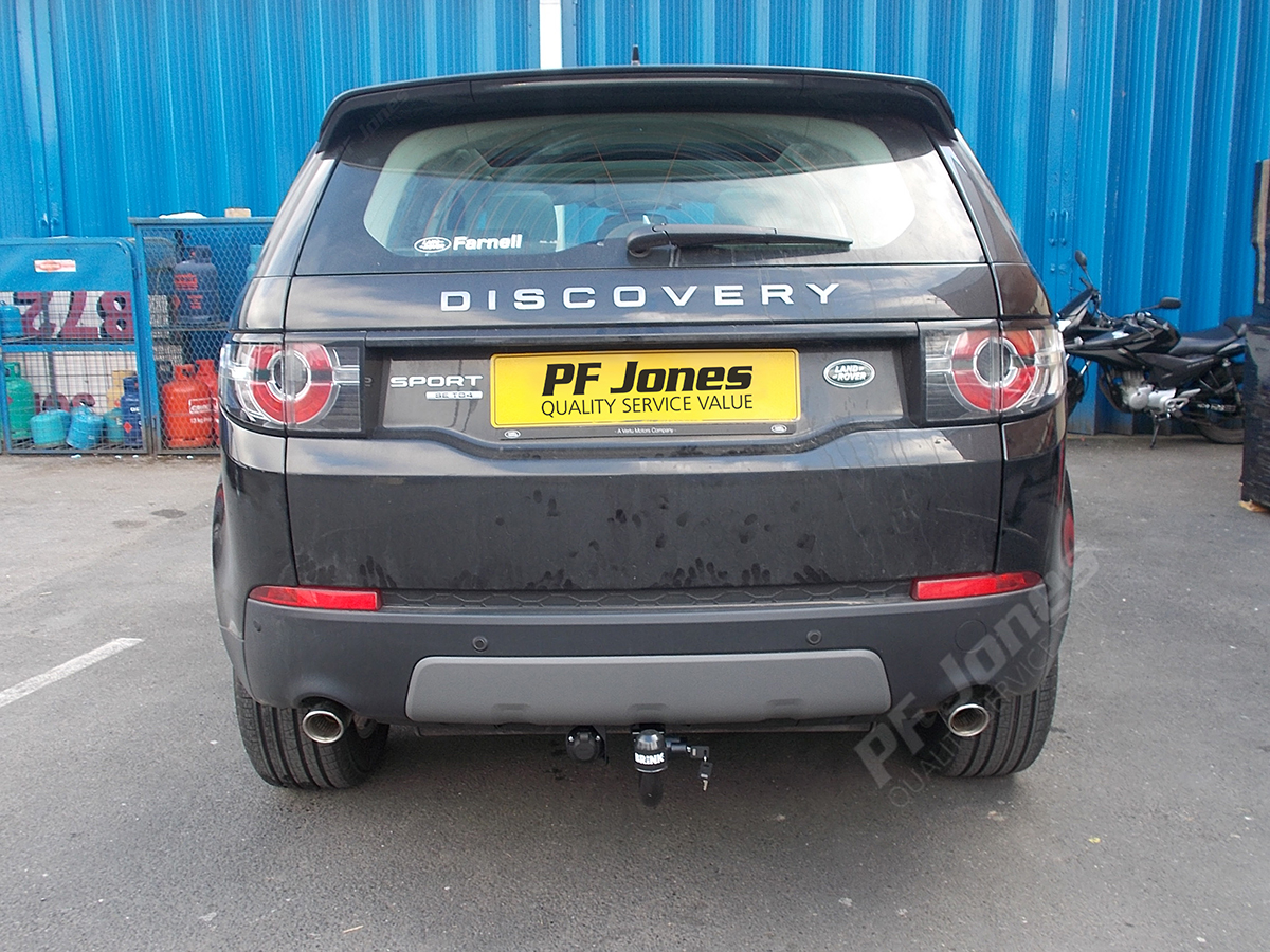 landrover discovery sport towbars brink detachable 2015