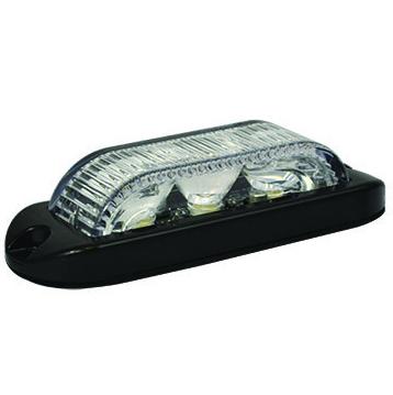 LED Warning Light - 12/24v - LED3DVA180