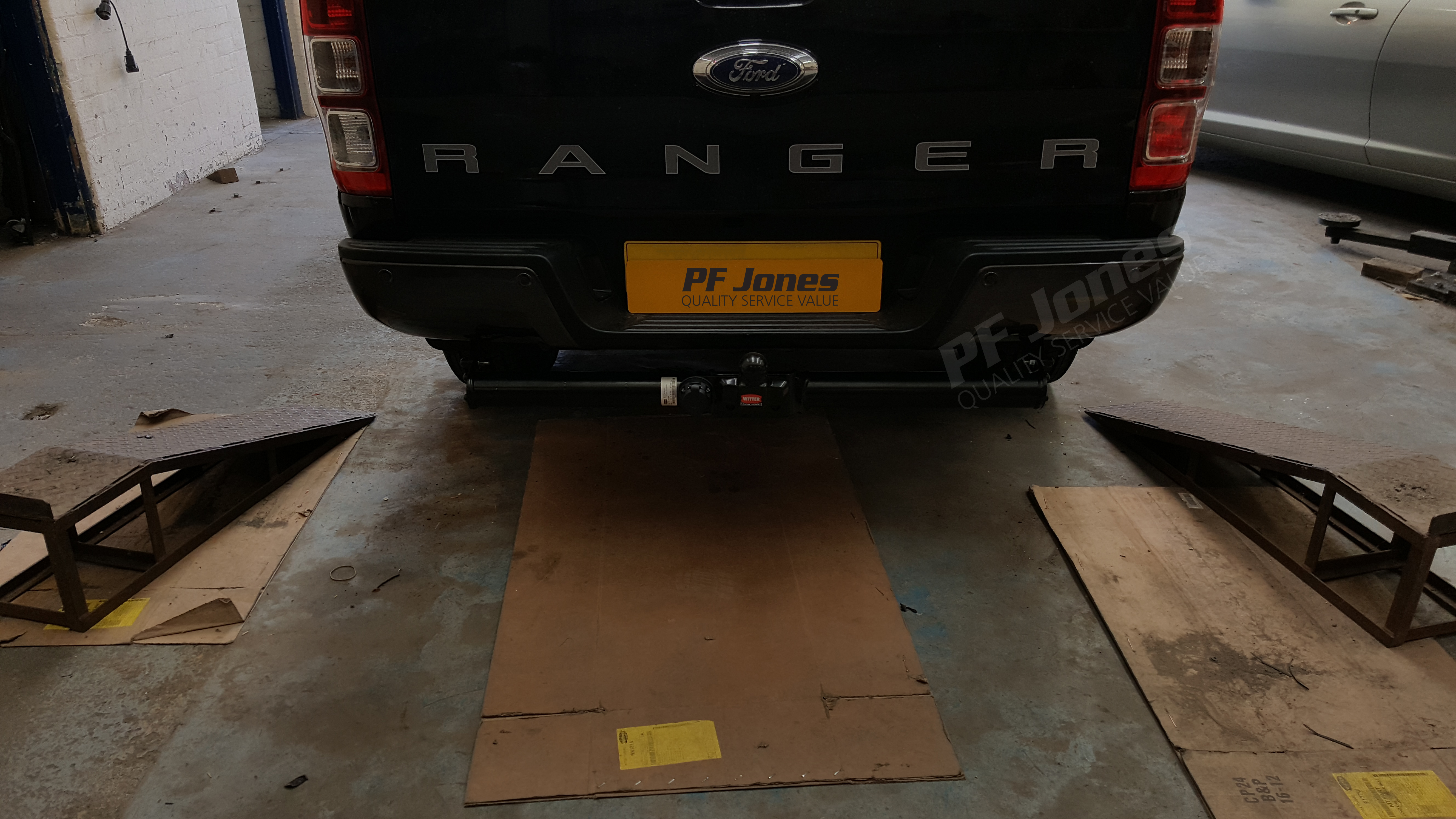 Ford Ranger Pickup 2016 Onwards Witter Flange Towbar With Bumper Tow Bar Wiring Harness Territory