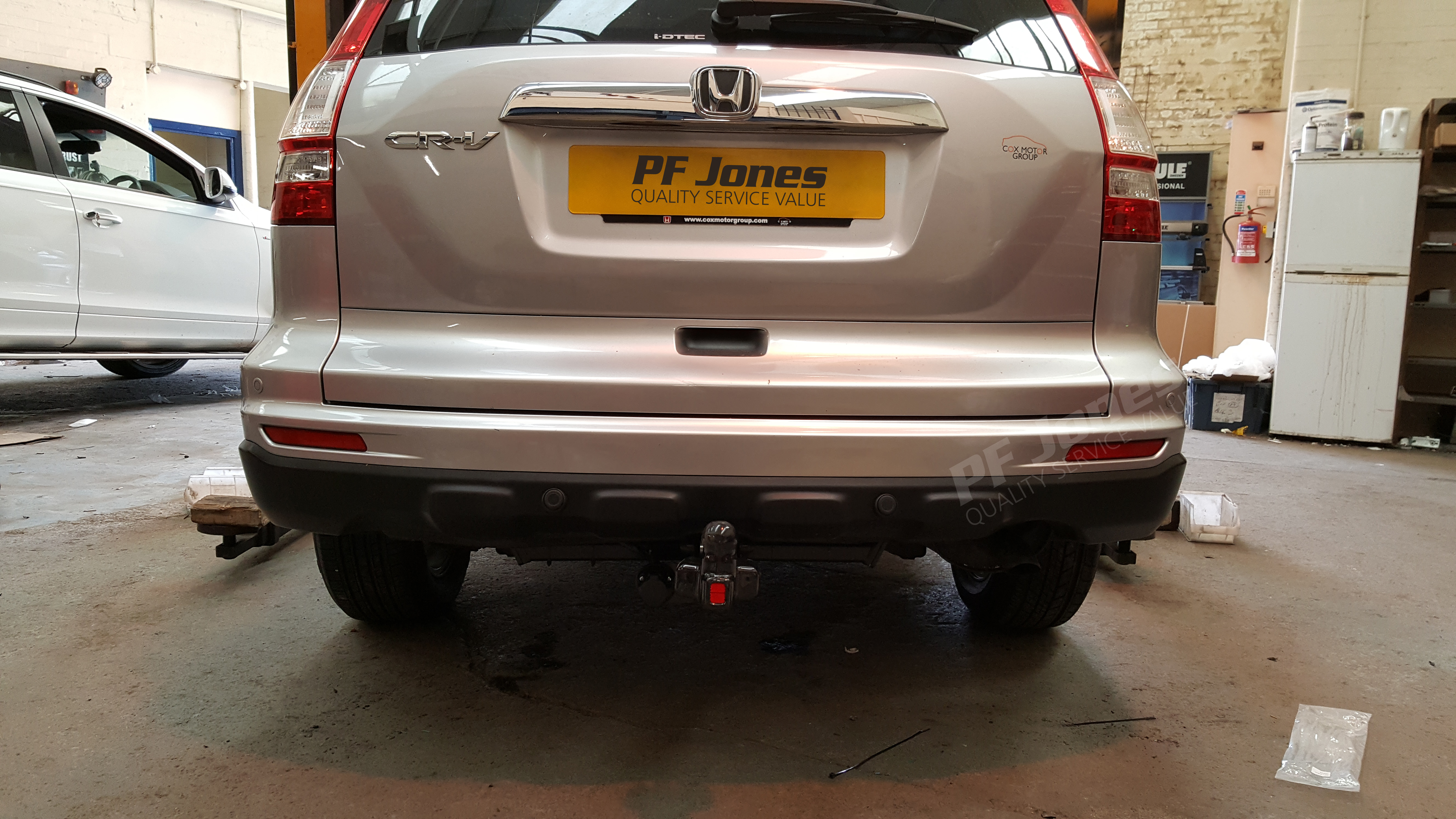 Honda Cr V 2007 Onwards Witter Flange Tow Bar Rh Pfjones Co Uk 2014 Honda  CR V Honda CR V Towing Capability