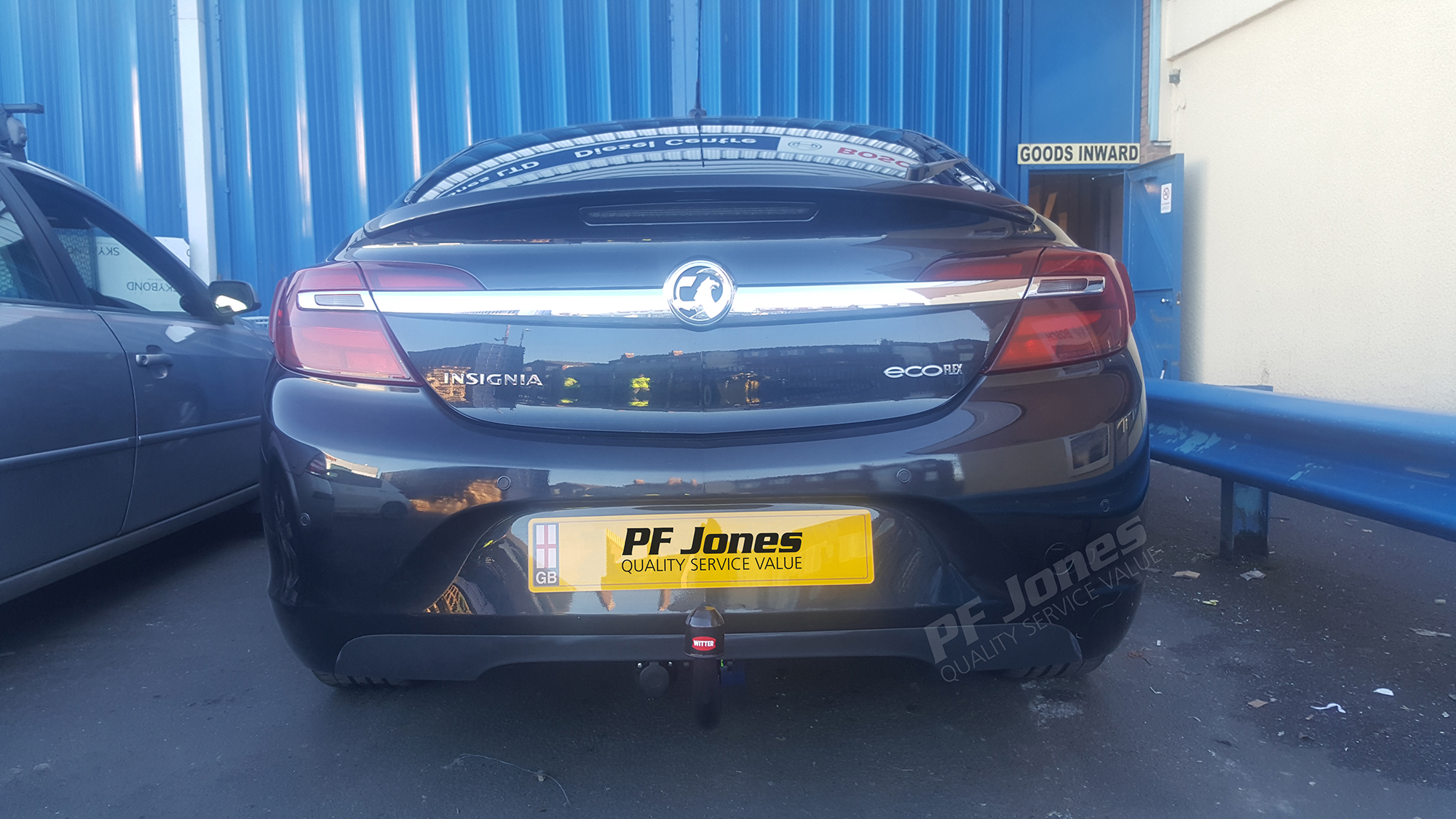 Vauxhall insignia saloon 2008 onwards witter detachable towbar