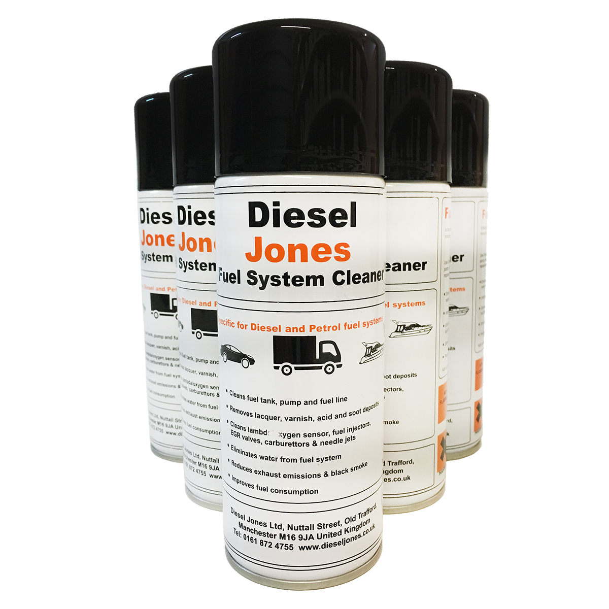 Diesel Jones Fuel System Cleaner