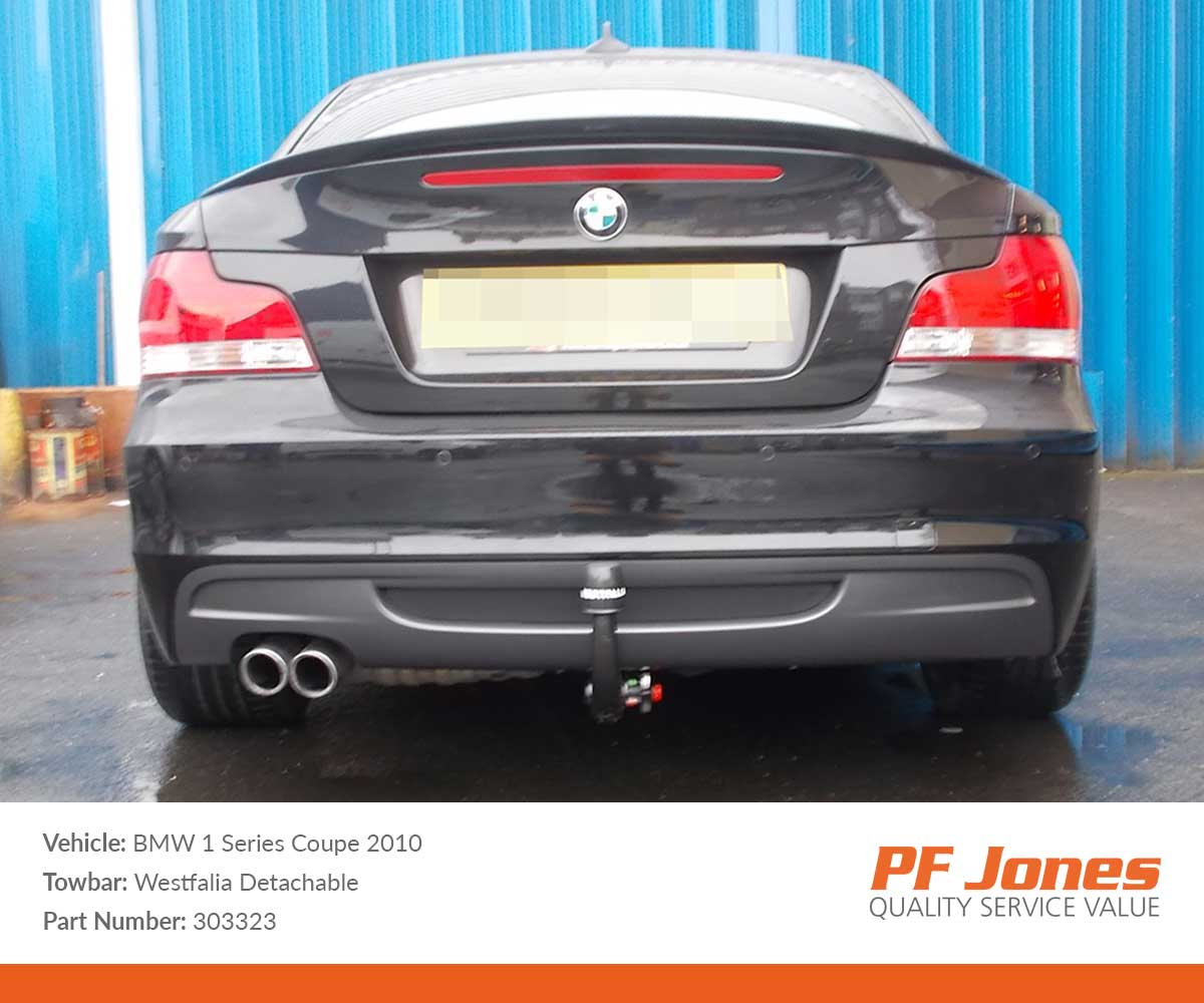 BMW 1 Series Coupe E82 2007-2014 Westfalia Detachable Towbar