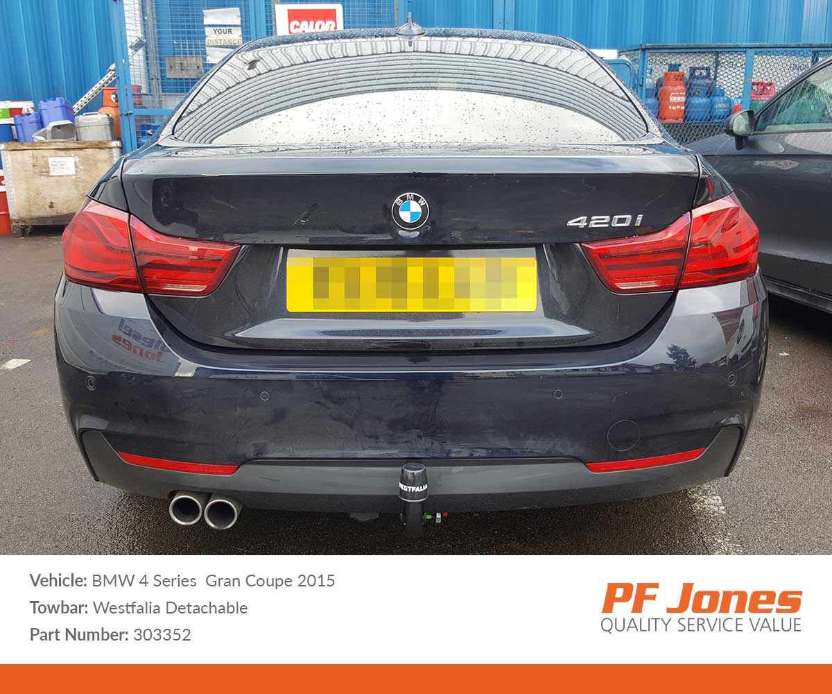 For BMW 4 Series Towbar Wiring 2014 to 2019 Coupe 7 pin DEDICATED Tow Electrics