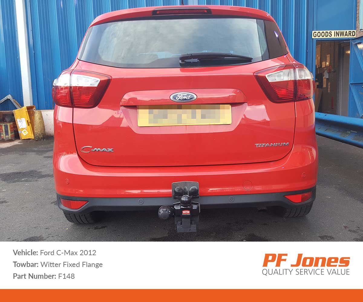 2015 ford c-max detachable towbar