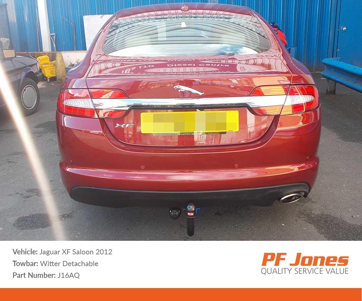 2015 Xf Jaguar: Jaguar XF Saloon 2008-2015 Witter Detachable Towbar