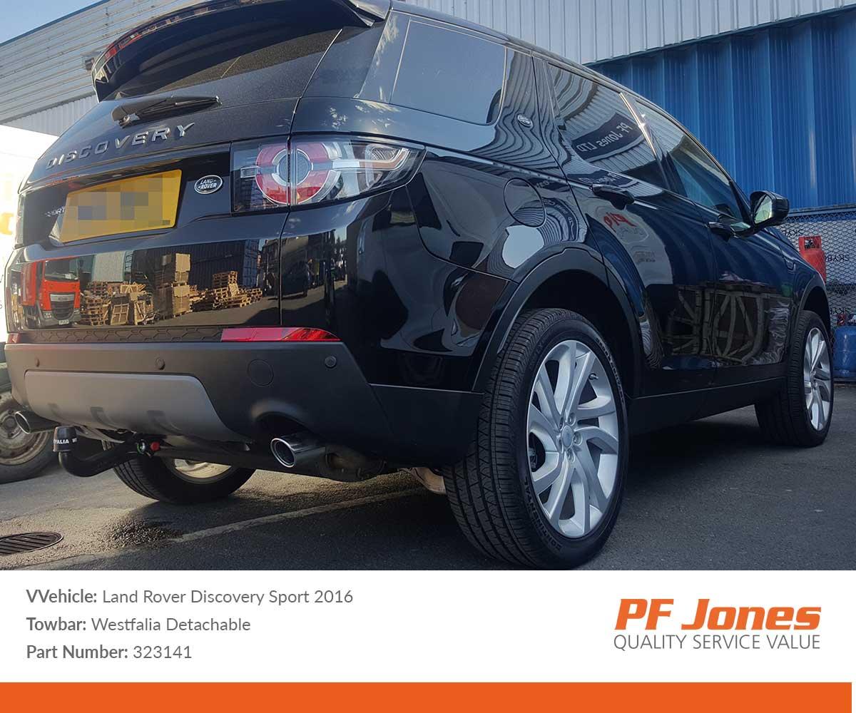 Land Rover Discovery Sport 2015 Onwards Westfalia