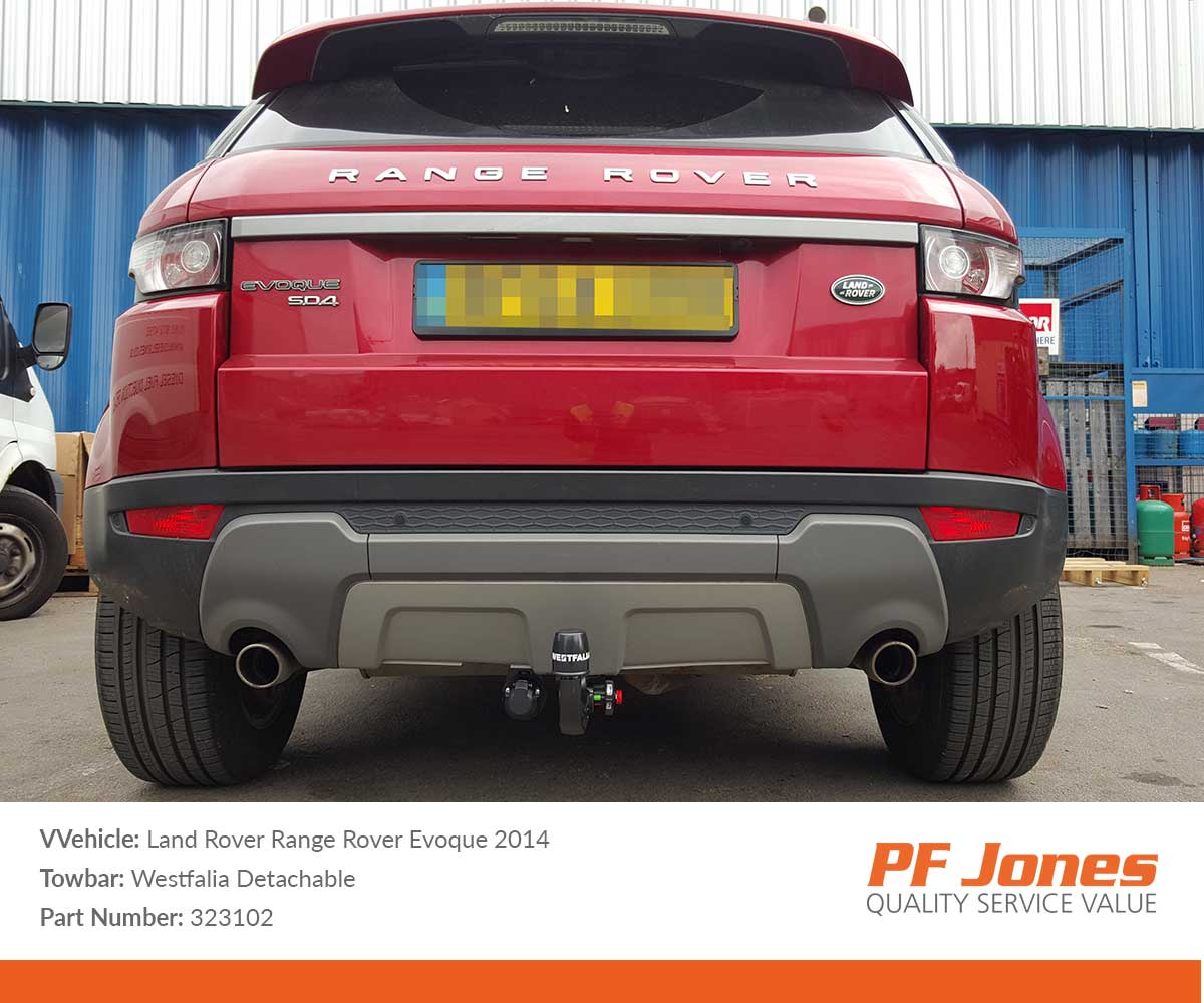 Vertical Detachable Towbar for RANGE ROVER EVOQUE SUV 2-4WD 11 on 030/_H1