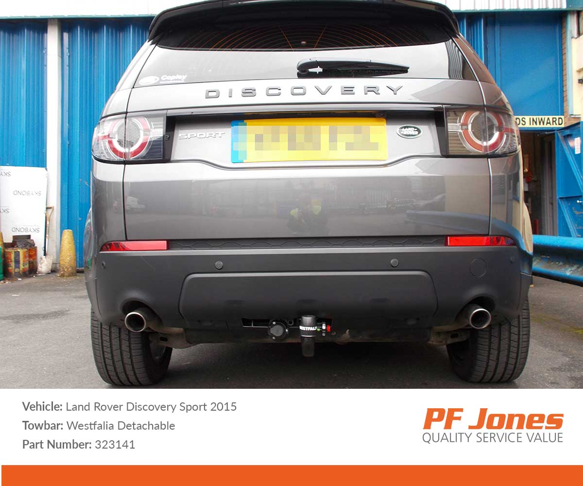 Land Rover Discovery Sport 2015 Onwards Westfalia