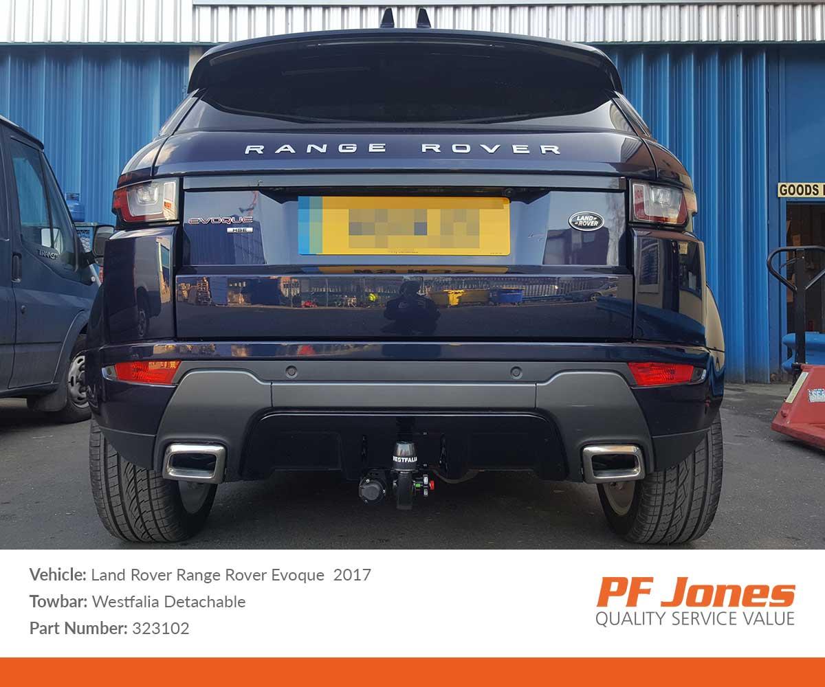 Land Rover Range Rover Evoque 2011 Onwards Westfalia