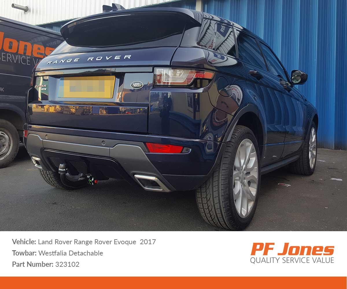 Land Rover Range Evoque 2011 Onwards Westfalia Detachable Towbar Wiring Diagrams