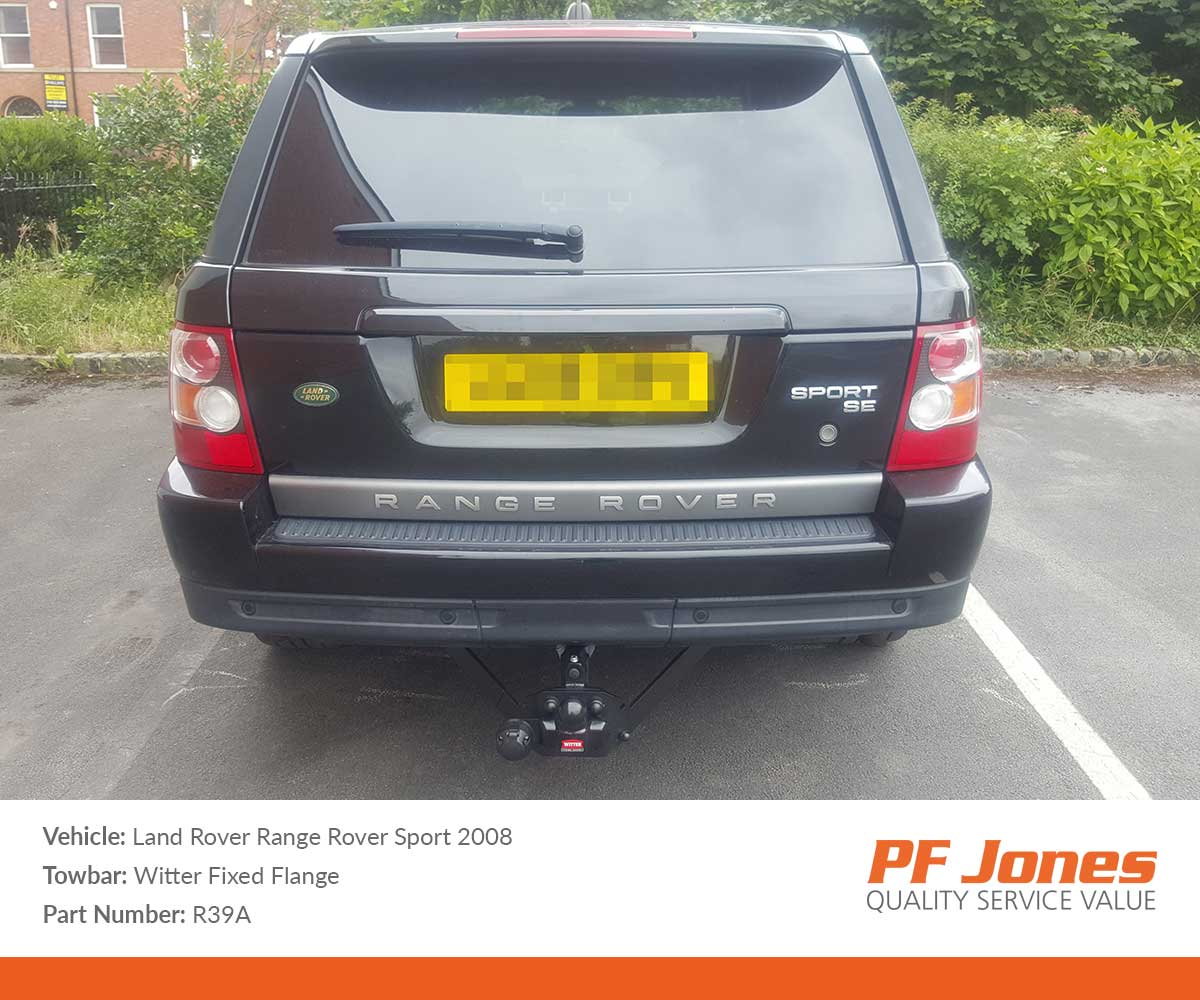 Landrover Range Rover Sport 2005-2009 Witter Flange tow bar
