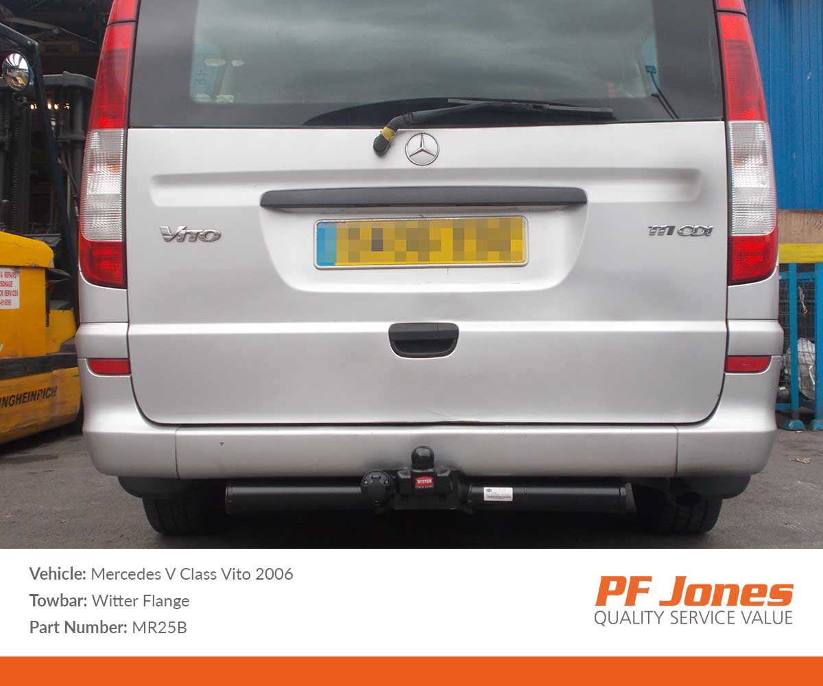 Mercedes Vito/Viano W639 2003-2015 Witter Flange Towbar