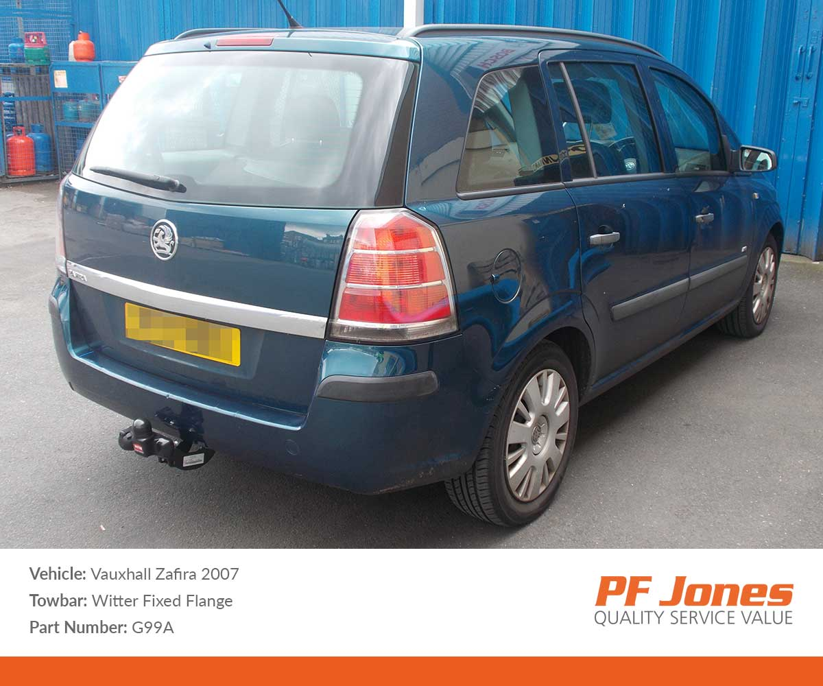 Vauxhall Astra Towbar Wiring Kits Pf Jones Witter Tow Diagram For H Estate Est 2004