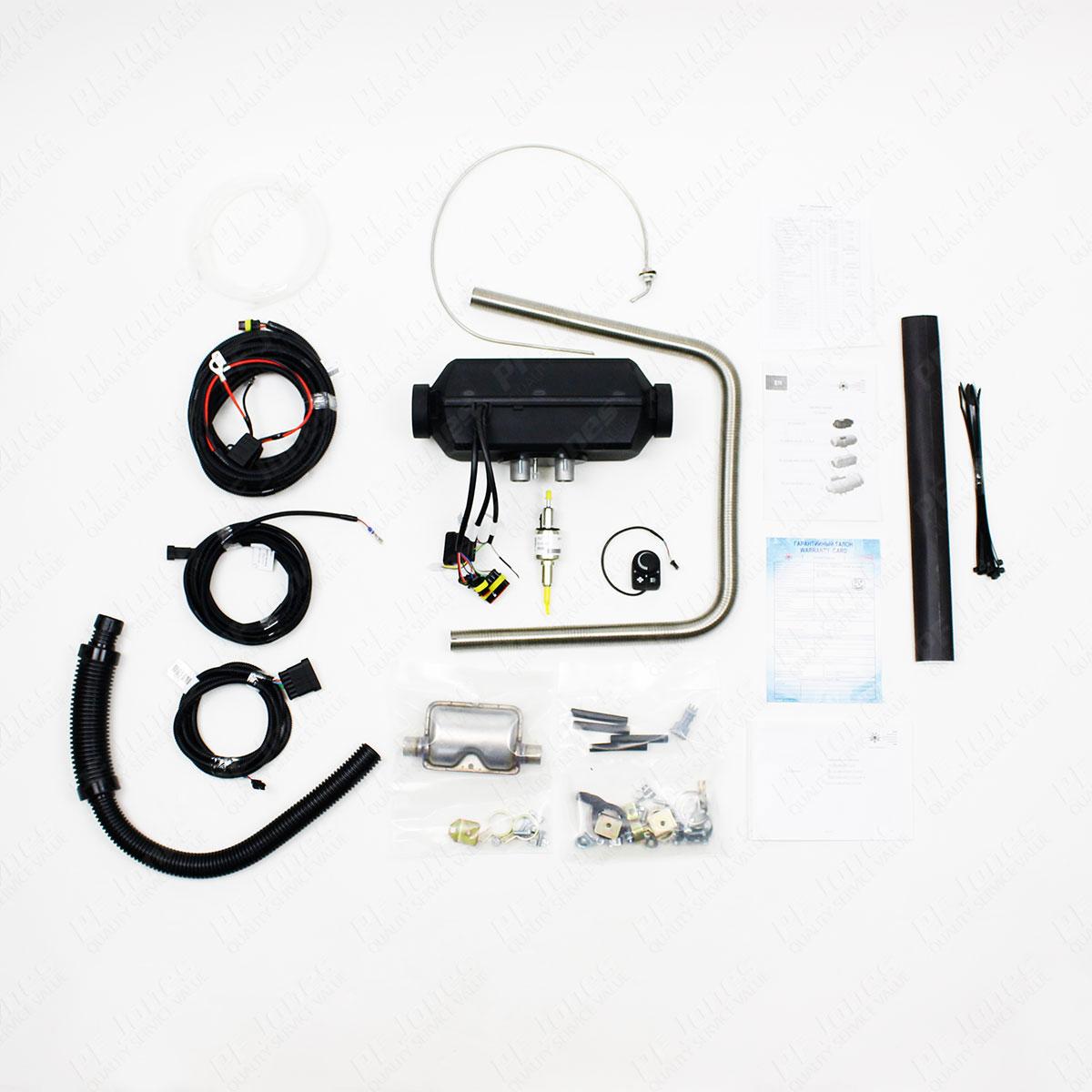 Planar 2D-12-TM Air Heater Set
