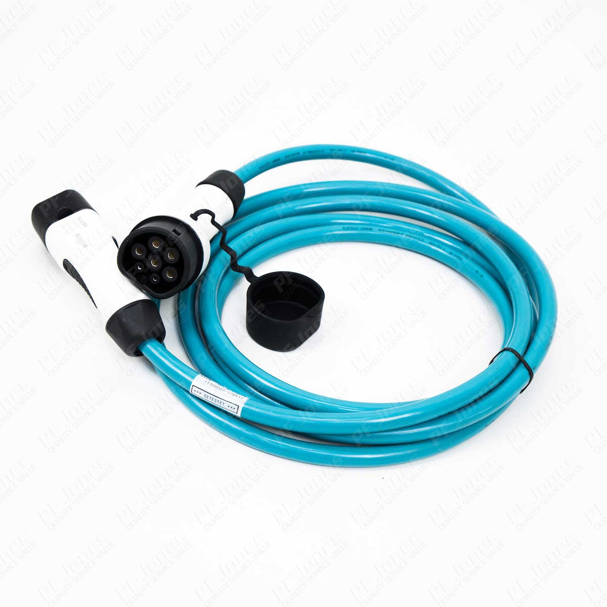 5m (Straight) 20 Amp Type 2 to Type 2 EV Charging Cable
