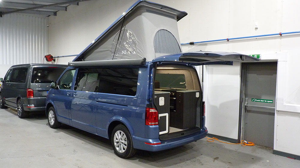 VW T6 LWB Exterior - Rear Door Tailgate/SCA Elevating Roof