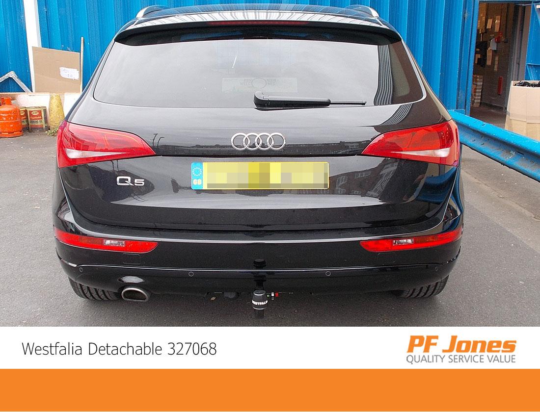 Audi Q5 Westfalia Detachable Towbar