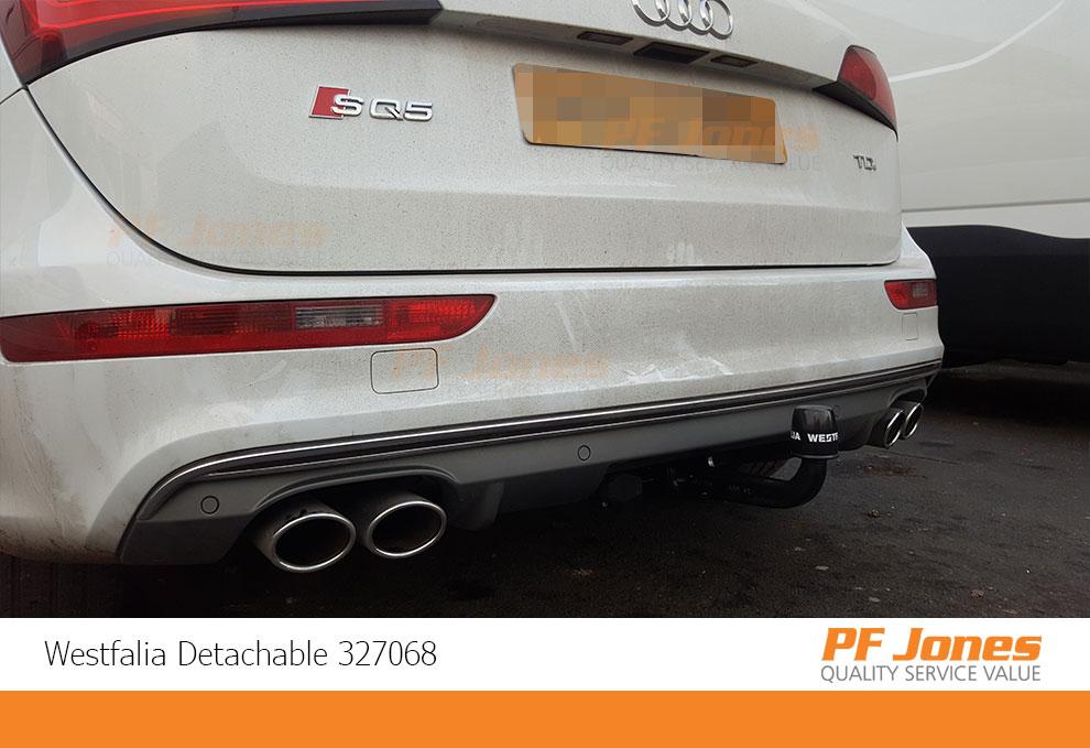 Audi Q5 Westfalia Detachable Towbar fitted