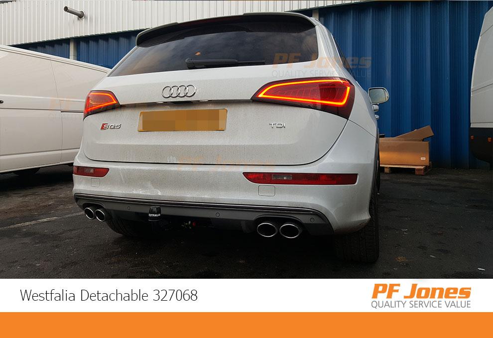 Audi Q5 Detachable Towbar fitting